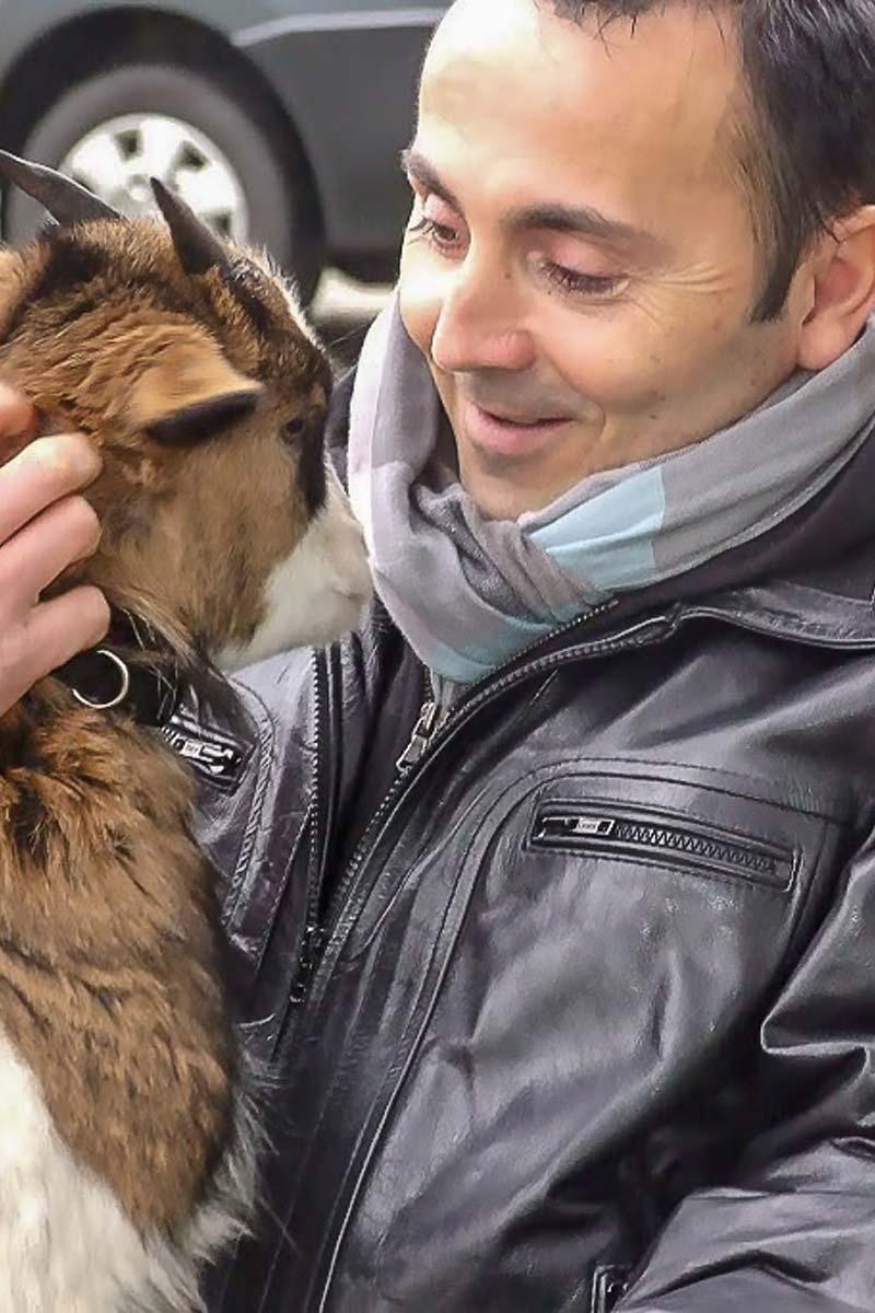 Médiation animale à la ferme pédagogique en Loire Atlantique