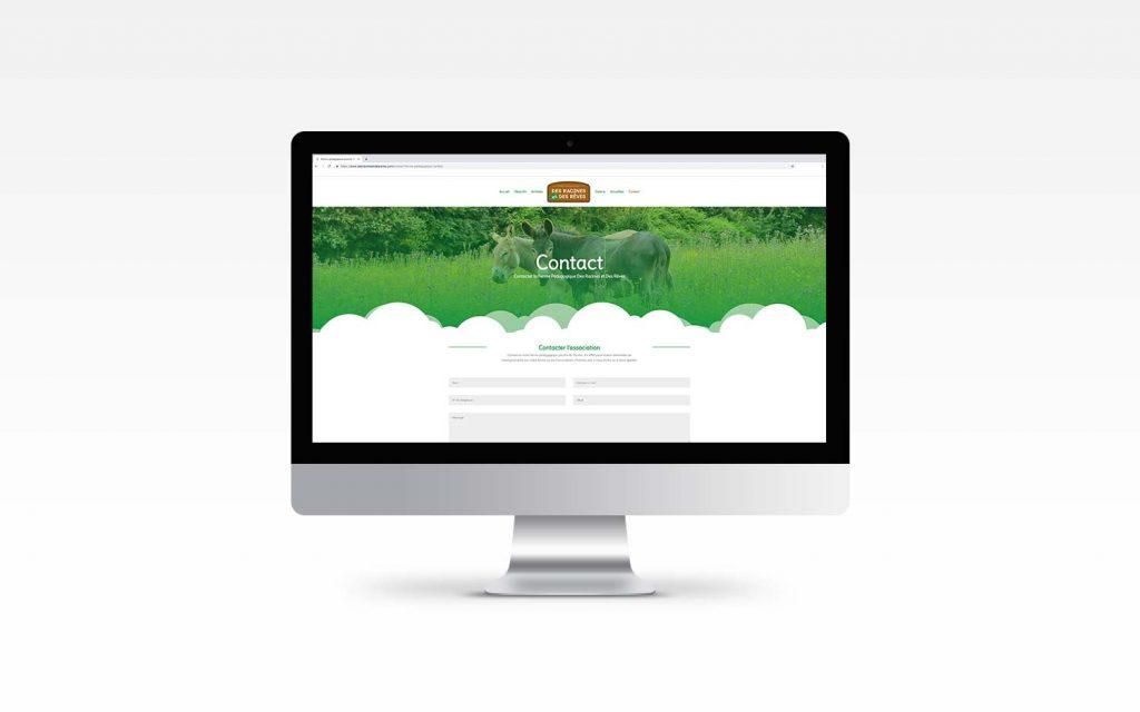 site internet ferme pédagogique